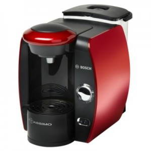 BOSCH TAS 4013 Tassimo red Φίλτρου, Espresso, Capuccino, 1600 Wa