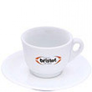 Bristot - Cappuccino Cup with Saucer