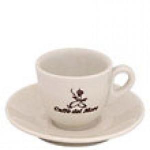 Caffe Del Moro - Espresso Cup with Saucer
