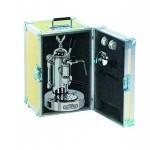 Elektra Micro Casa a Leva Chrome & Auminium Box Espresso Coffee