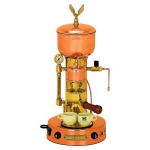 Elektra Micro Casa Semi Automatica Copper & Brass Espresso Coffe