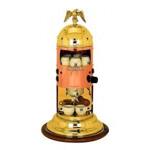 Elektra Mini Verticale Copper & Brass Espresso Coffee Machine