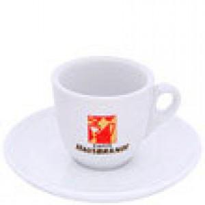 Hausbrandt - Espresso Cup with Saucer