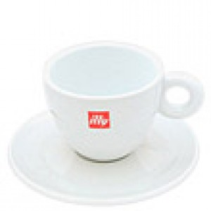 Illy - Cappuccino Cup with Saucer