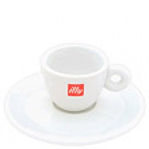 Illy - Espresso Cup with Saucer
