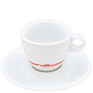 Kimbo - Cappuccino Cup with Saucer