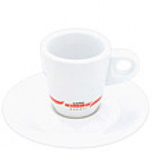 Kimbo - Espresso Cup with Saucer
