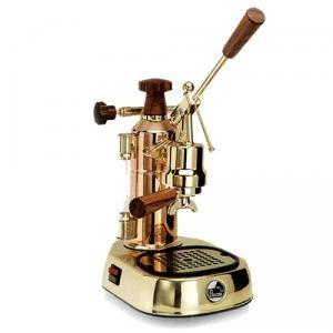 La Pavoni ERH Europiccola Copper-Brass Espresso Coffee Machine