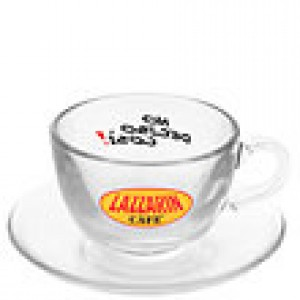 Lazarin - Cappuccino Cup with Saucer