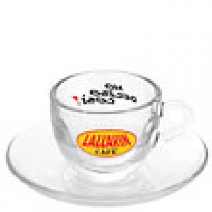 Lazarin - Espresso Cup with Saucer