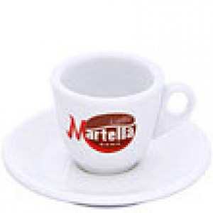 Martella - Cappuccino Cup with Saucer