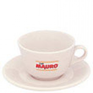 Mauro - Cappuccino Cup with Saucer