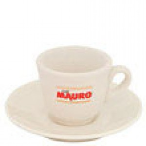 Mauro - Espresso Cup with Saucer