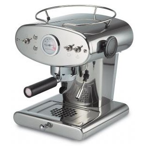 Francis Francis X1 Chrome Espresso Coffee Machine