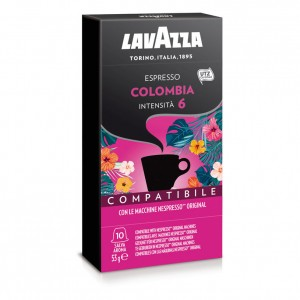Lavazza - Colombia, 10x nespresso συμβατές κάψουλες