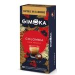 Gimoka - colombia 100% arabica, 10x nesppresso συμβατές κάψουλες καφέ
