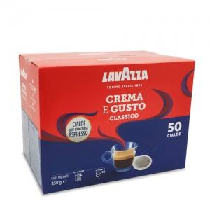 Lavazza - Crema e Gusto, 50x χάρτινες ταμπλέτες