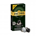 Jacobs - Ristretto, 10x nespresso συμβατές κάψουλες