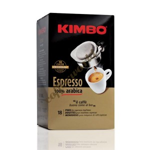 Kimbo - Gold 100% Arabica, 18x ταμπλέτες καφέ