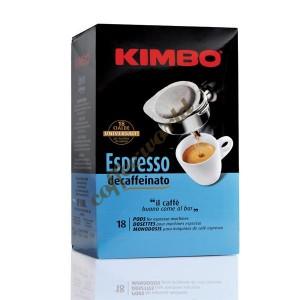 Kimbo - Decaffeinato, 18x χάρτινες ταμπλέτες