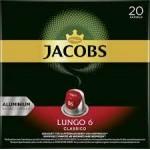 Jacobs - Lungo, 20x nespresso συμβατές κάψουλες