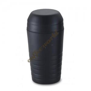 Shaker μάυρο, 500ml με σίτα