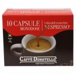 Donatello - 100% Arabica, 10x nespresso συμβατές