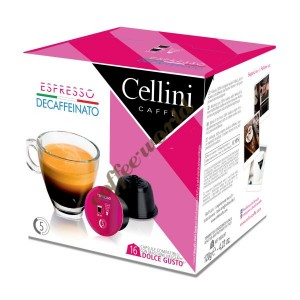 Cellini - Decaffeinated, 16x dolce gusto συμβατές