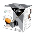 Cellini - Extrabar, 16x dolce gusto συμβατές