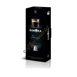 Gimoka - Deciso, 10x nesppresso συμβατές κάψουλες καφέ