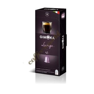 Gimoka - Lungo, 10x nesppresso συμβατές κάψουλες καφέ
