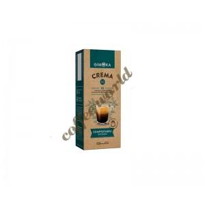 Gimoka - Crema, 10x nespresso συμβατές κάψουλες καφέ
