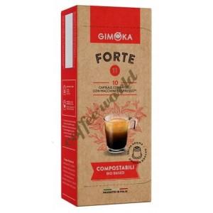Gimoka - Forte, 10x nespresso συμβατές κάψουλες καφέ