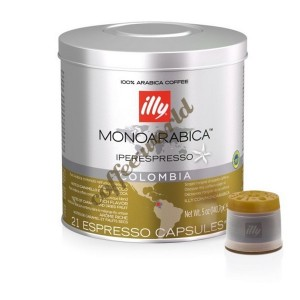 illy - Colombia Monoarabica, 21x iperespresso κάψουλες