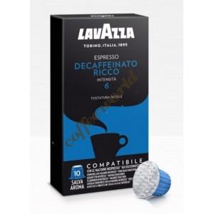 Lavazza - Decaffeinato Ricco, 10x nespresso συμβατές κάψουλες