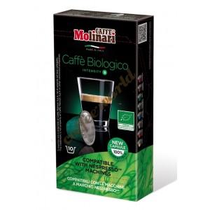 Molinari - Bio Organic, 10x nespresso συμβατές