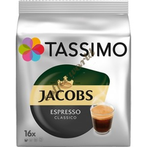 Jacobs - Espresso classico, 16x tassimo κάψουλες