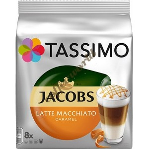 Jacobs - Caramel Macchiato, 16x tassimo κάψουλες