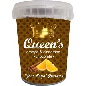 Σοκολάτα Queen's -  Orange & Cinnamon, 330g