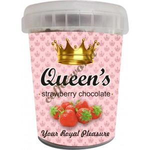 Σοκολάτα Queen's - Strawberry, 330g