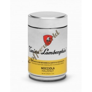 Lamborghini Hazelnut ρόφημα σοκολάτας, 500g