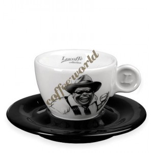 Lucaffe - Cappuccino Cup with Saucer