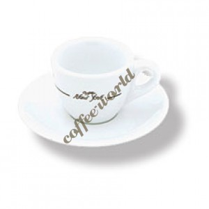 New York - Espresso Cup with Saucer