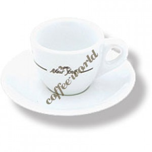 New York - Cappuccino Cup with Saucer