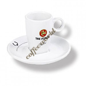 Treforze - Espresso Cup with Saucer
