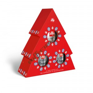 illy XMAS Tree Limited Edition, 3 x 125gr ground