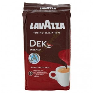 Lavazza - Dek Intenso 250g, αλεσμένος