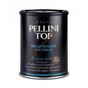 Pellini - Top 100% Arabica Decaffeinated, 250g αλεσμένος