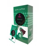 Portioli  - Brasile single origin, 25x χάρτινες ταμπλέτες καφέ
