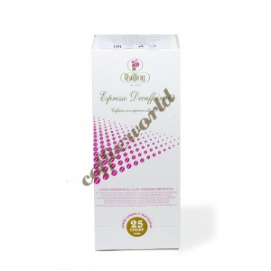 Portioli - Decaffeinato, 25x χάρτινες ταμπλέτες καφέ